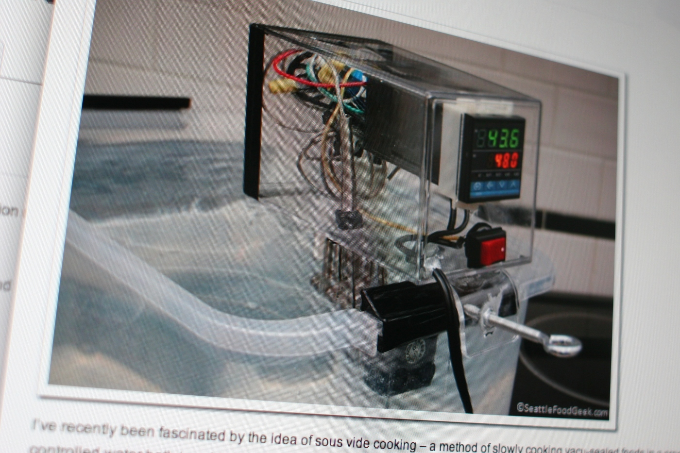 DIY Immersion Circulator