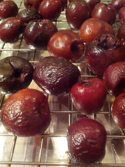 Smoked Cherries